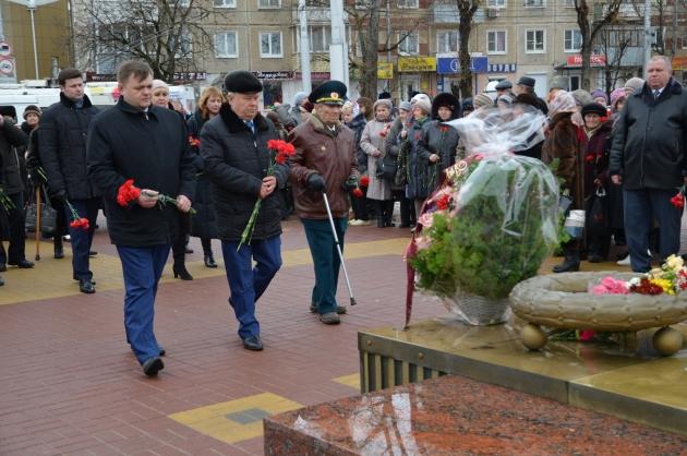 В Калуге почтили память погибших защитников Отечества
