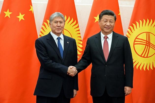 Алмазбек Атамбаев, Си Цзиньпинь