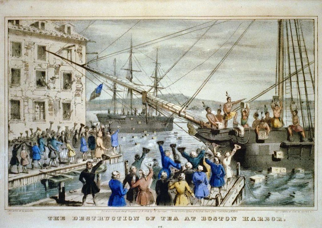 a history of the boston tea party on december 16 1773