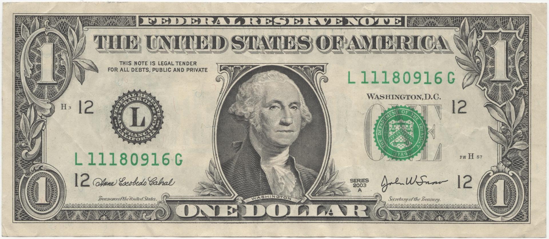 Доллары сша в картинках