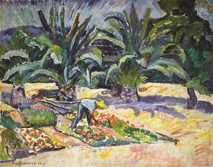 Петр Кончаловский. Сан — Максим. Пальмы. 1908