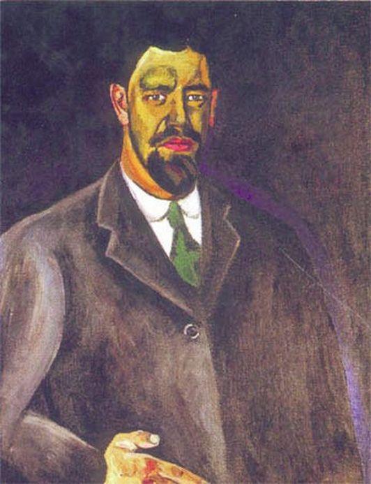 Петр Кончаловский. Автопортрет. 1910
