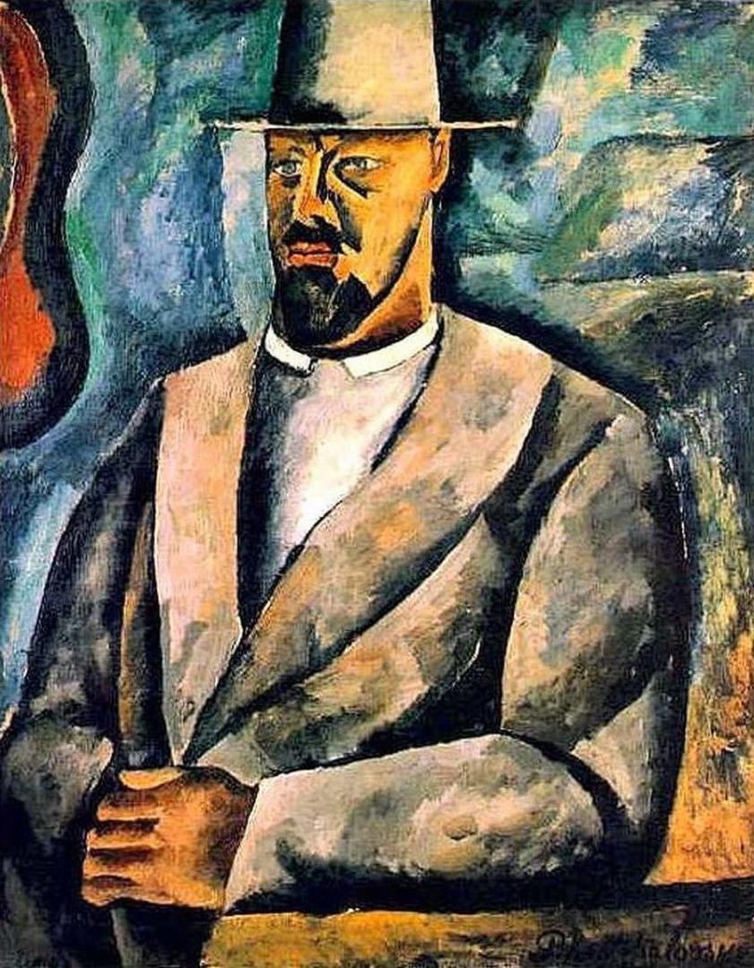 Петр Кончаловский. Автопортрет. 1912