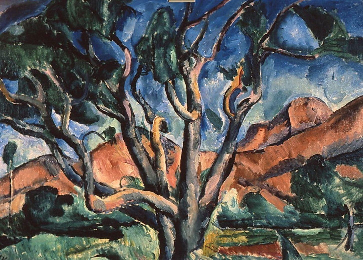 Петр Кончаловский. Дерево. 1916