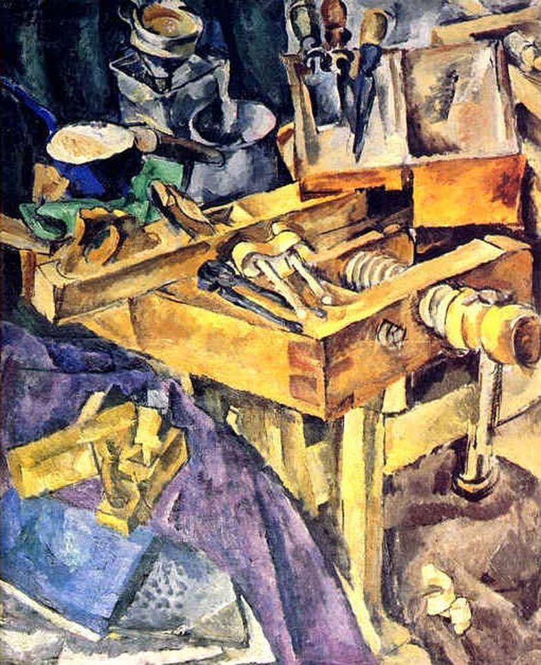 Петр Кончаловский. Верстак. 1917