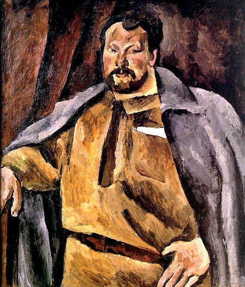 Петр Кончаловский. Портрет историка Николая Александровича Гейнике.1919