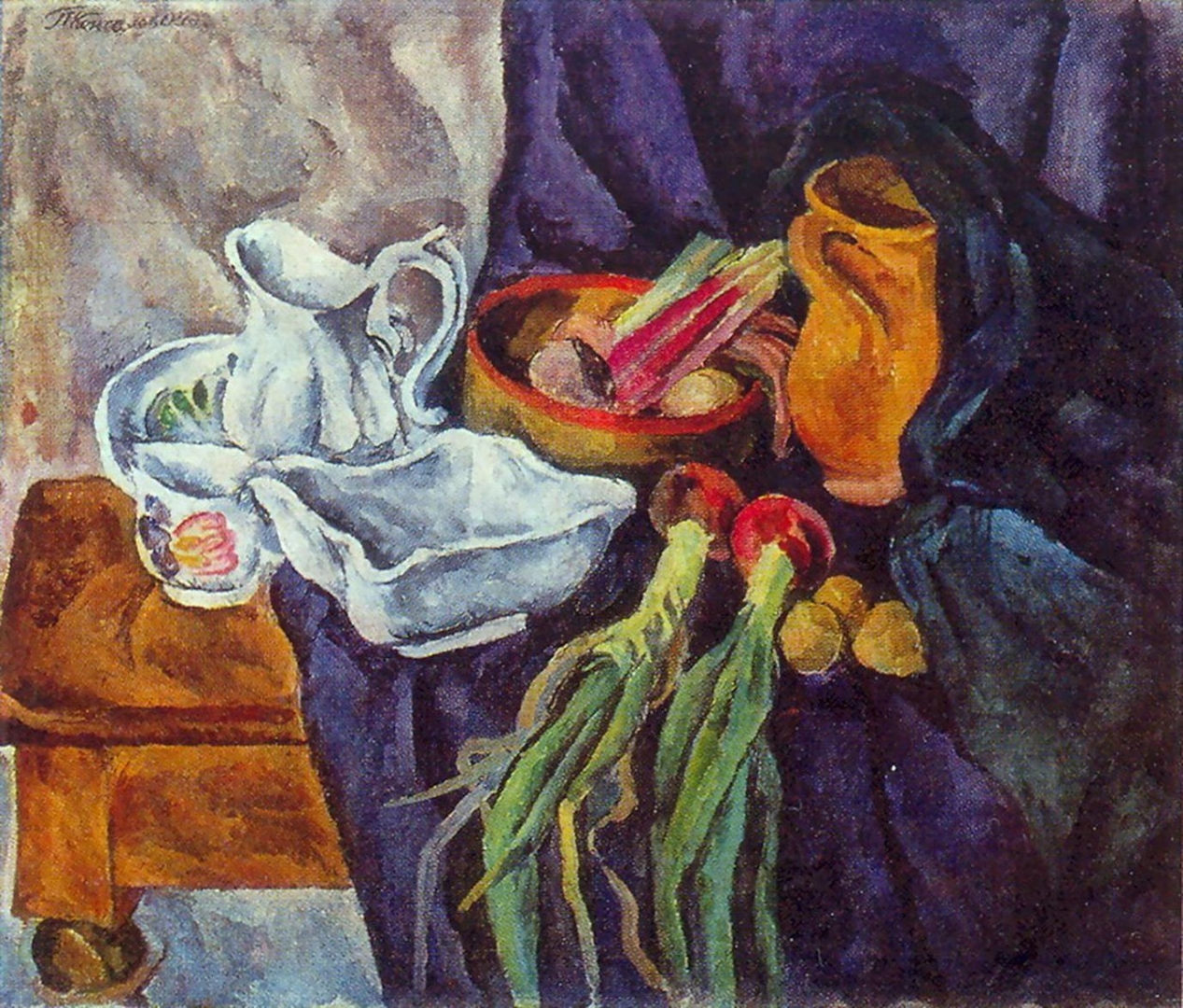 Петр Кончаловский. Натюрморт. 1920