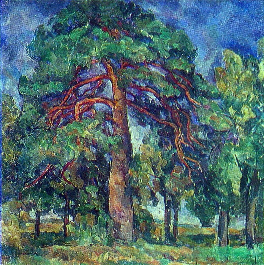 Петр Кончаловский. Сосна. 1920