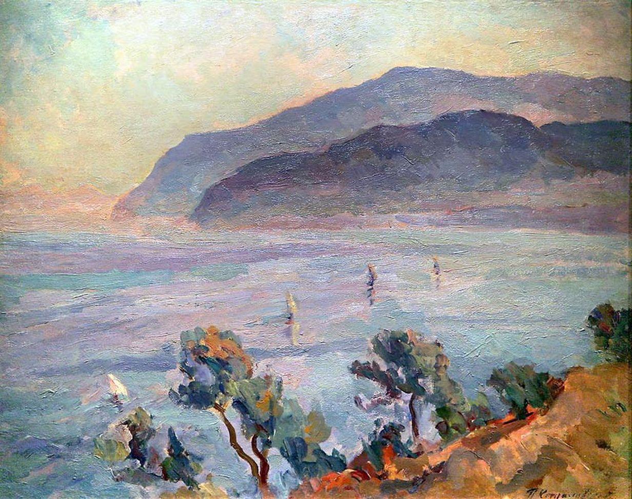 Петр Кончаловский. Сан — Анджело. 1924