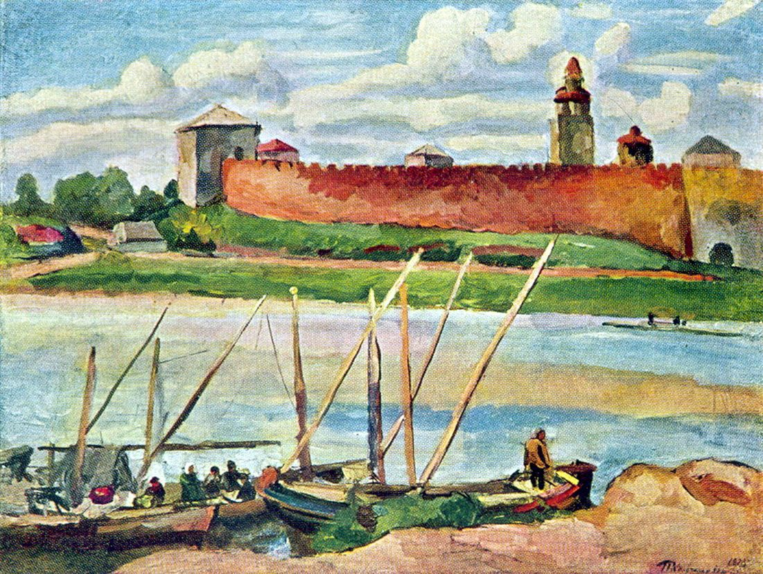 Петр Кончаловский. Новгородский Кремль (Детинец). 1925