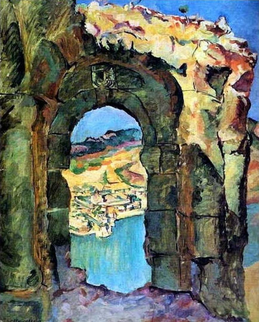 Петр Кончаловский. С развалин Мцыри. 1927