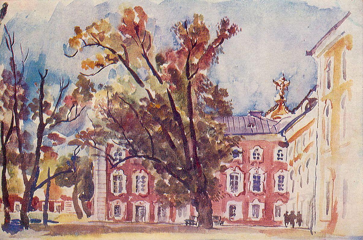 Петр Кончаловский. Петергоф. 1931