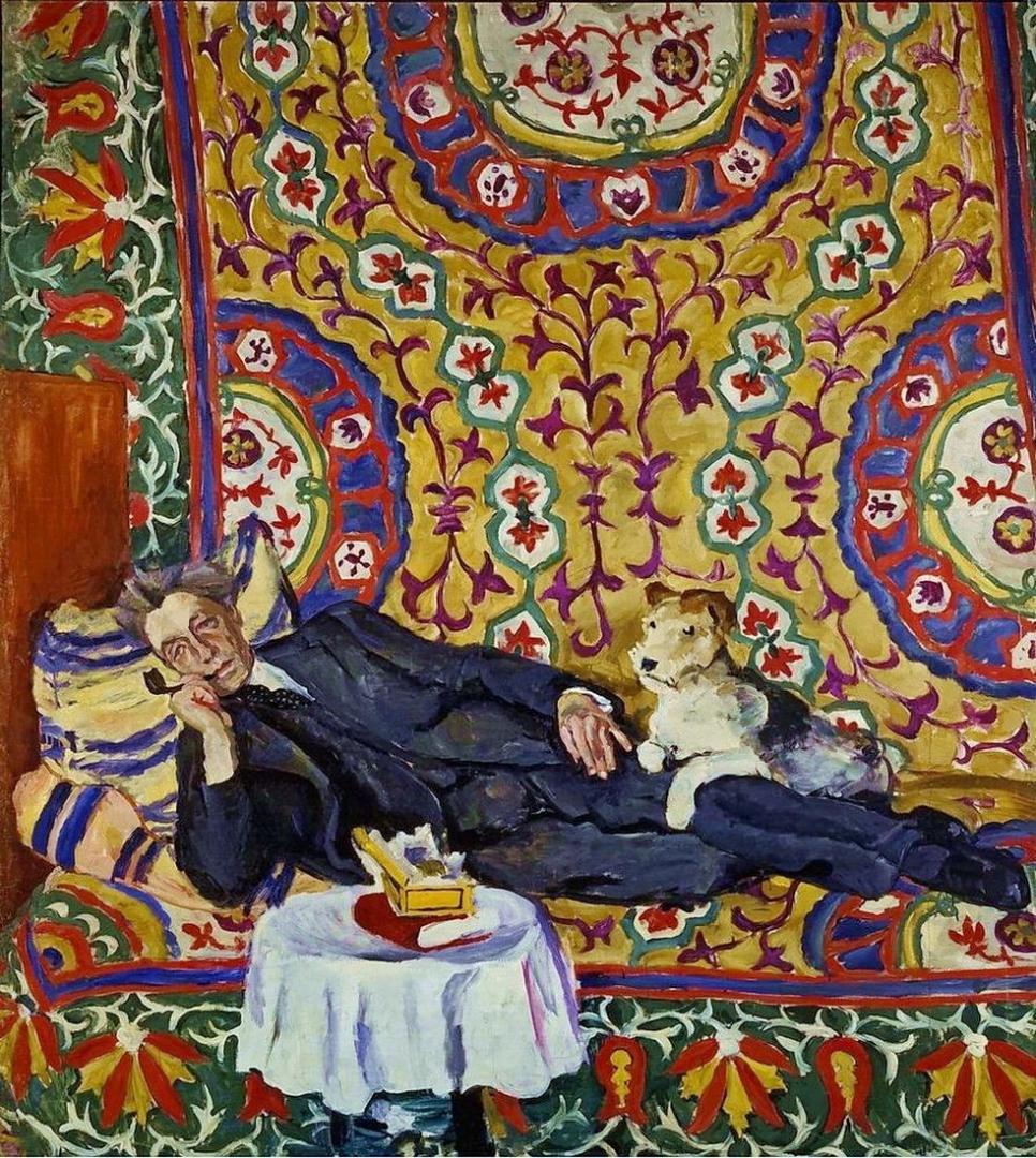 Петр Кончаловский. Портрет режиссера Всеволода Эмильевича Мейерхольда. 1938