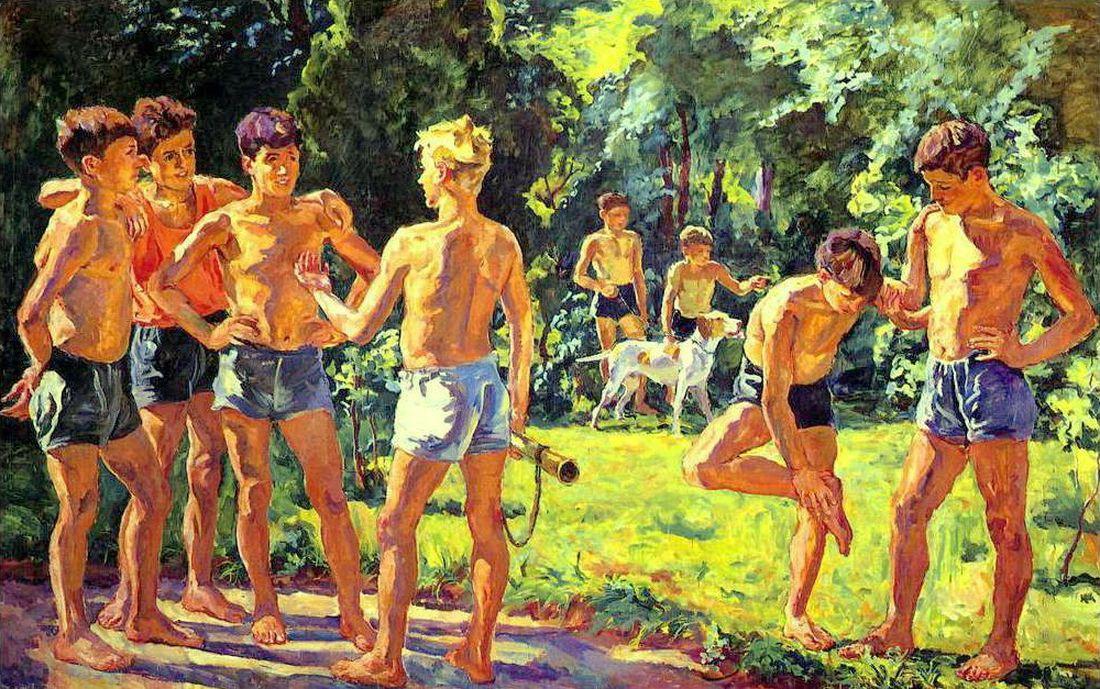 Петр Кончаловский. Летом. 1939