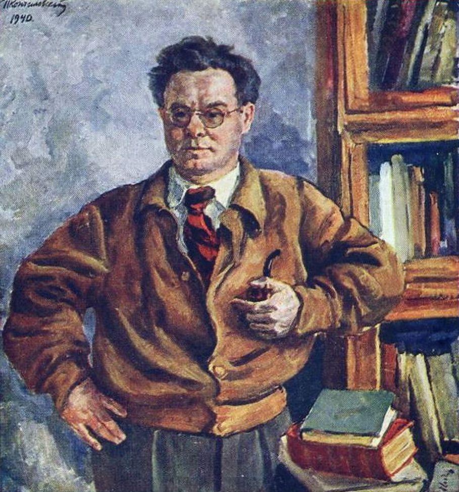 Петр Кончаловский. Портрет В. В. Иванова. 1940