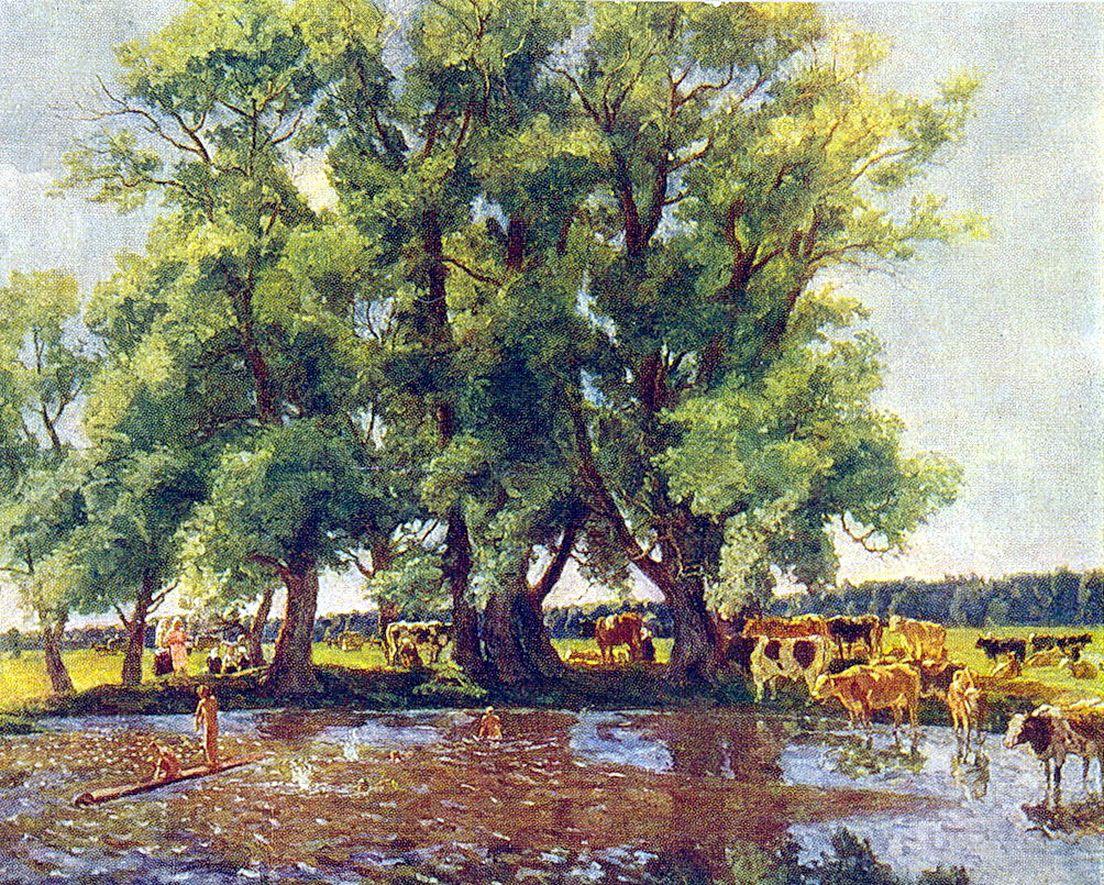 Петр Кончаловский. На полдни. 1947