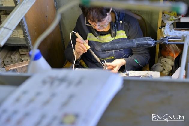 Обработка оловянной продукции