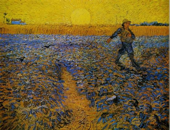Винсент ван Гог. Сеяльщик. 1888