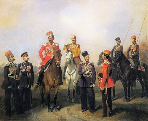 Блог им. adtak: Адольф Гебенс. Группа чинов Крымско-Татарского эскадрона. 1858