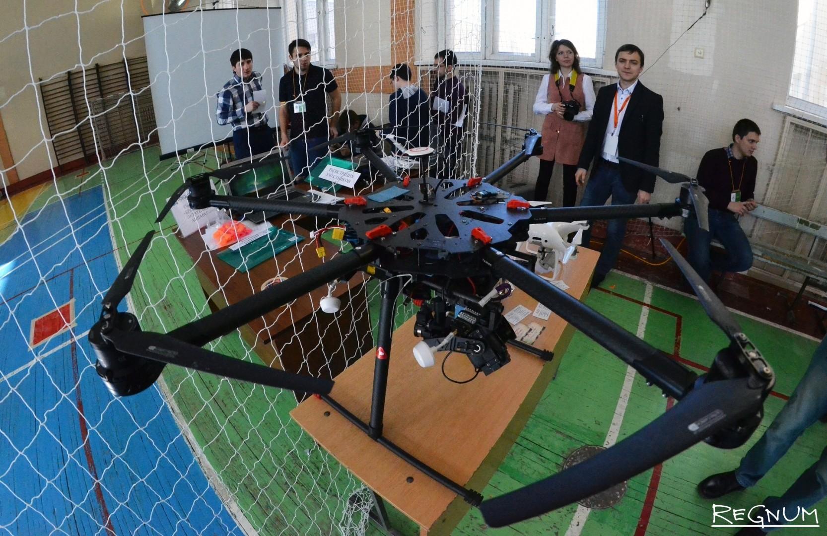 Секция беспилотных летательных аппаратов