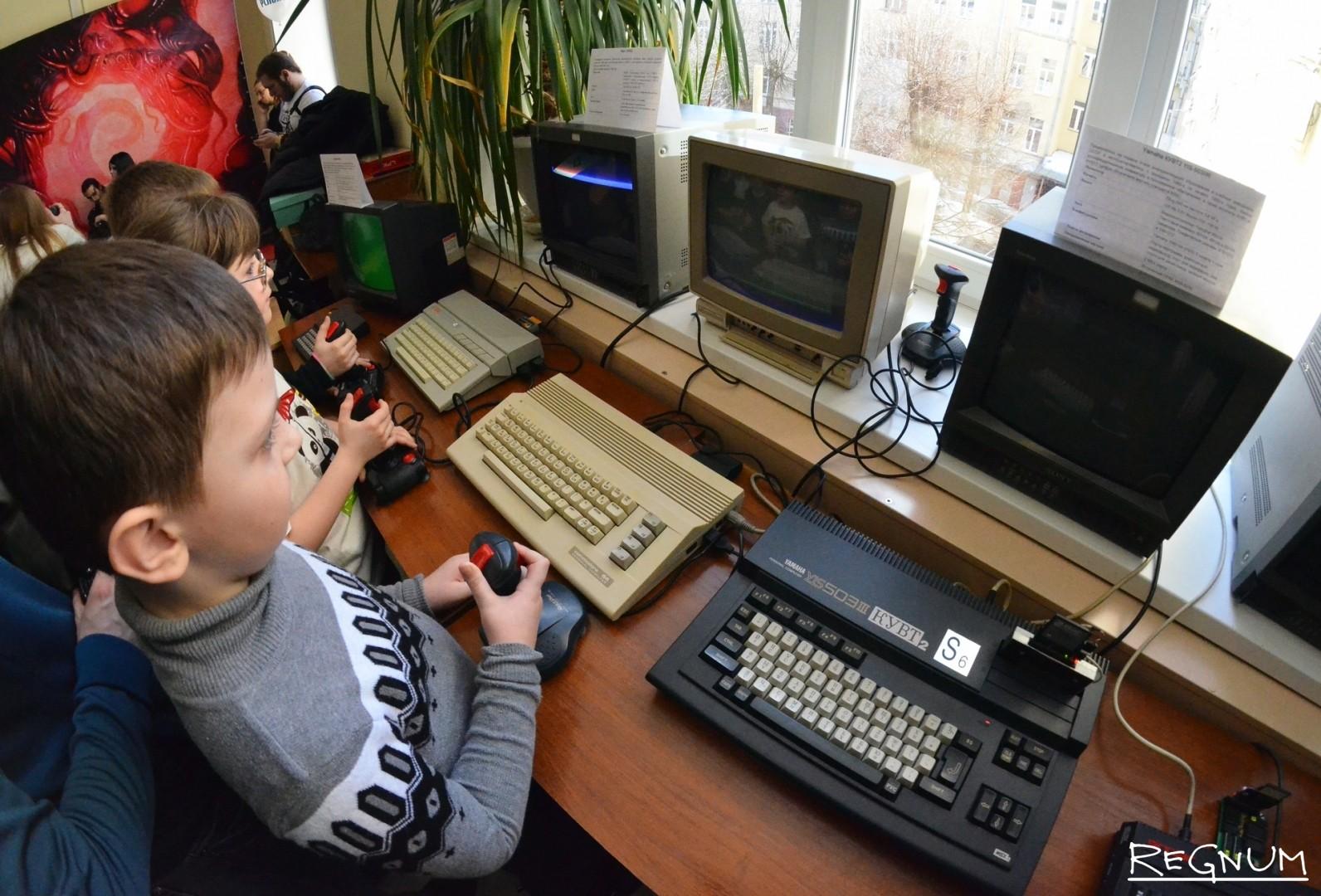 Выставка ретро-компьютеров