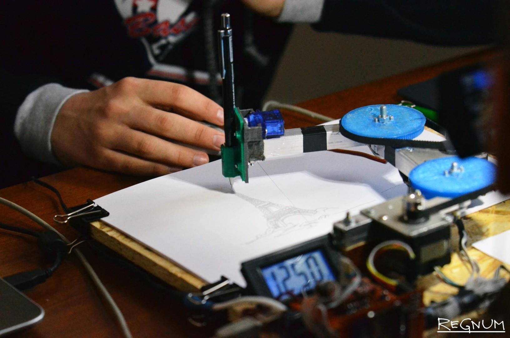 Рисующий робот
