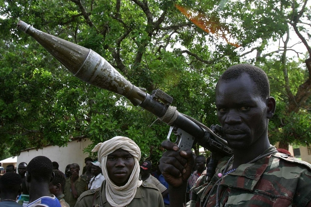 Миротворцы ООН атаковали повстанцев в ЦАР с вертолетов