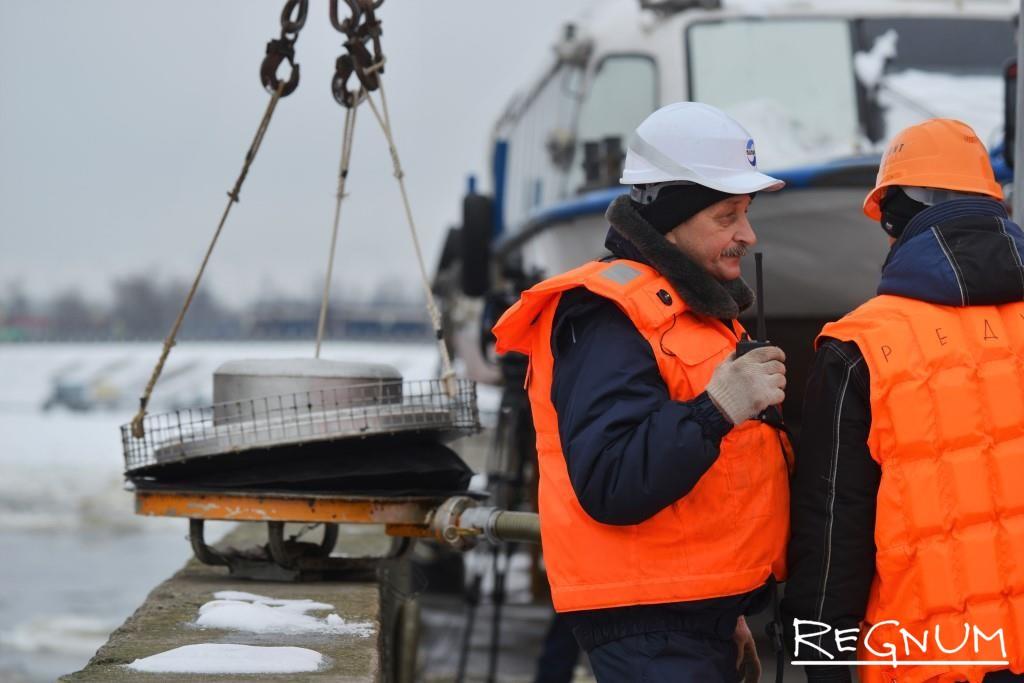 Переговоры берега с судном