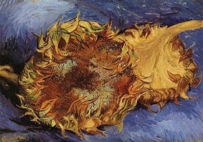 Ван Гог. Подсолнухи. 1887