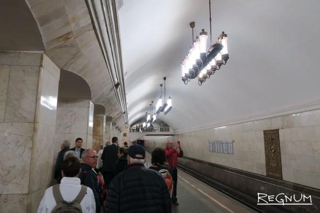 Станция метро «Курская Кольцевая»