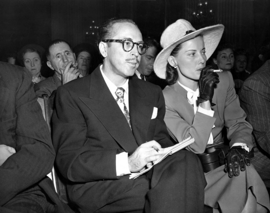 Далтон Трамбо с женой