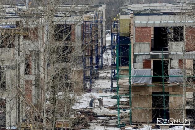 Строительство элитного комплекса на территории водной станции «Труд»