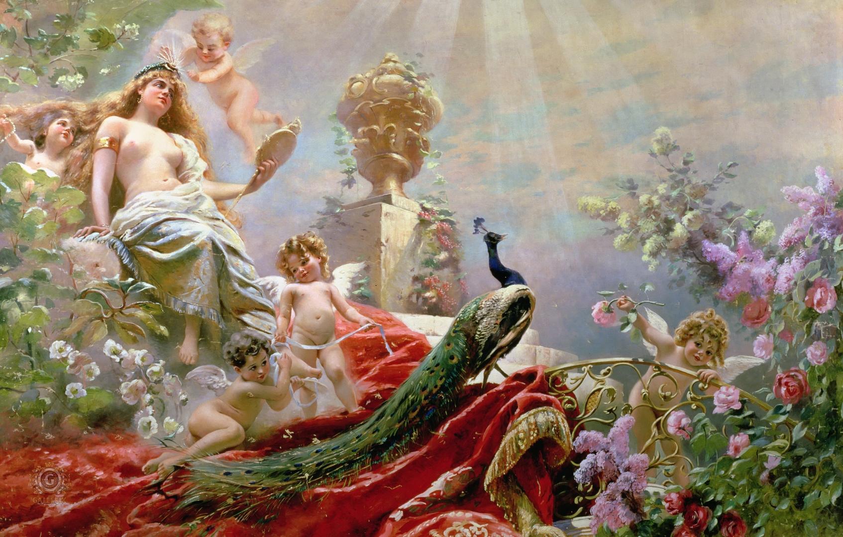 богини в картинах художников тебе бесконечно любовь