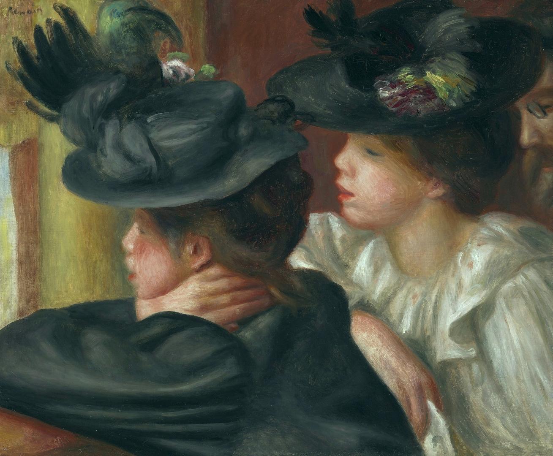 Пьер Огюст Ренуар. В театре. 1894