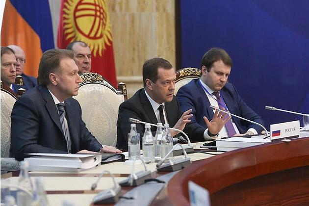 Дмитрий Медведев: «Никто никого в ЕАЭС насильно не держит»