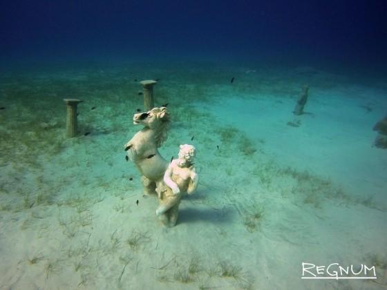 Подводный музей на Кипре — искусственно созданный парк