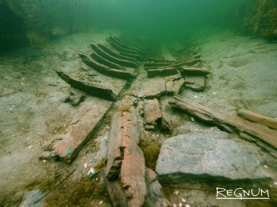Подводная археология в Фанагории. Останки древнегреческого корабля