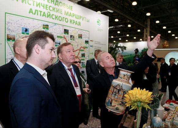 Алтайский край на XII Международной туристической выставке «Интурмаркет-2017» в Москве