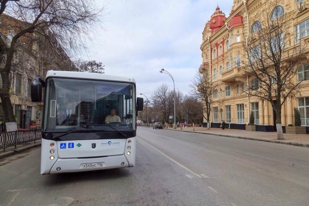 Ростов-на-Дону обкатывает газовый автобус: к ЧМ-2018 их будет полсотни
