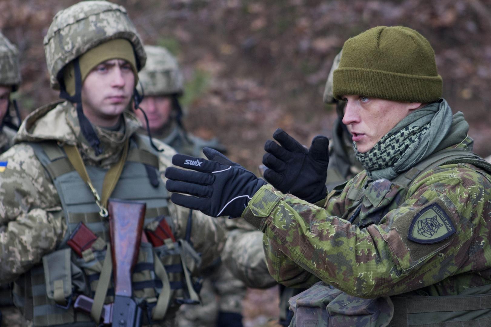 Польских военных заметили на Донбассе