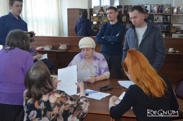 В Центральной библиотеке им. А.С. Пушкина
