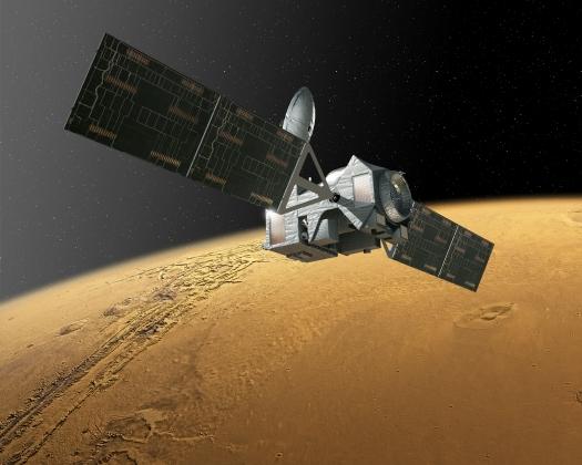Российско-европейский модуль TGO начал торможение в атмосфере Марса