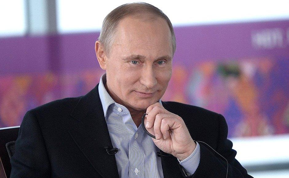 Президент России В. В. Путин