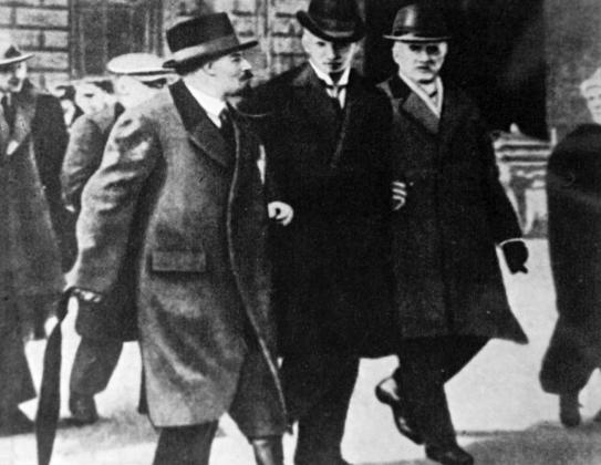 И.В. Ленин в Стокгольме