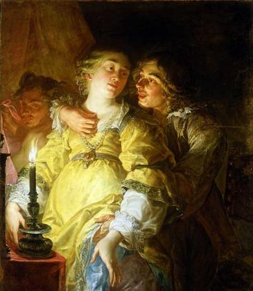 Жак де Л'Анге. Похоть. 1650