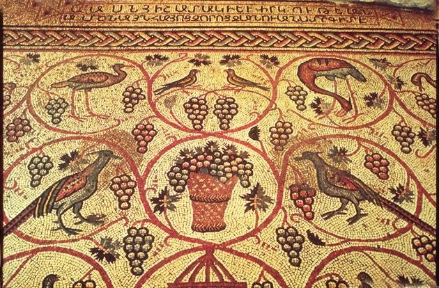 Армянская мозаика времен Османской империи