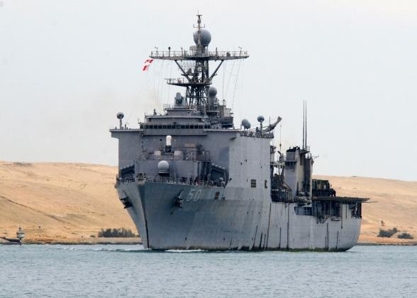 Корабль-док Carter Hall (LSD 50) ВМС США