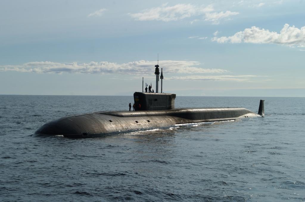 Подлодка ВМФ России