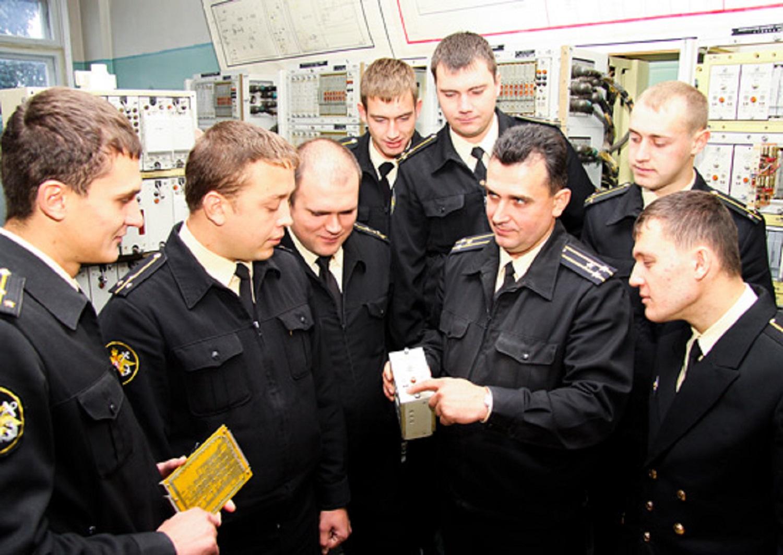 Занятия в обнинском учебном центре ВМФ «Военно-морская академия»