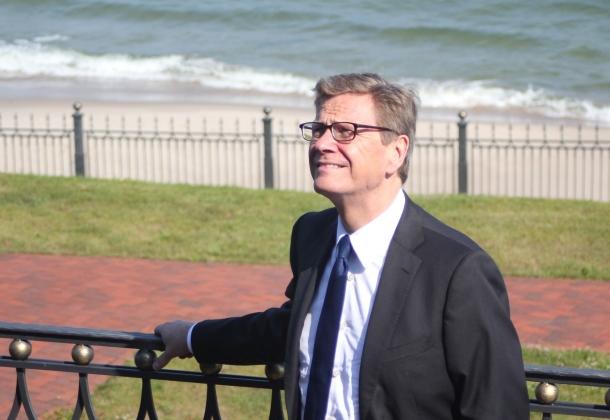 Глава МИД Германии Гидо Вестервелле в Калининградской области